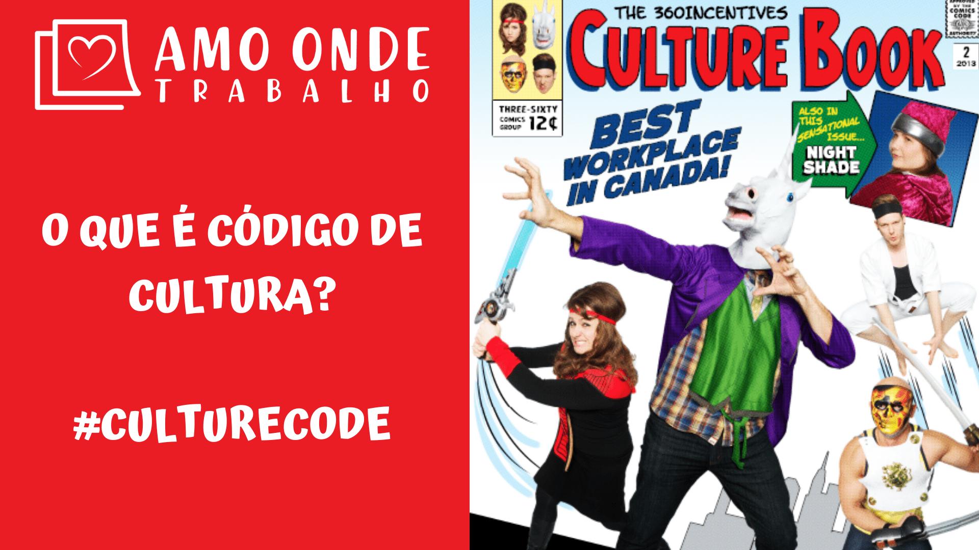 Capa - O que é código de cultura