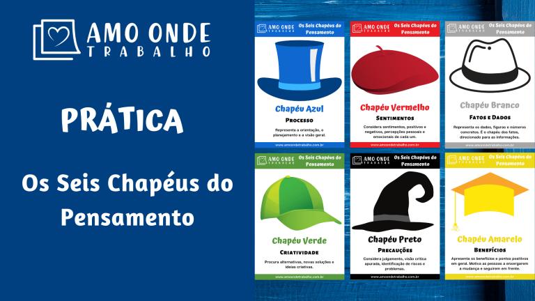 Capa - Os Seis Chapeus do Pensamento - Six Thinking Hats