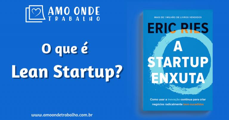 Capa - O que e Lean Startup