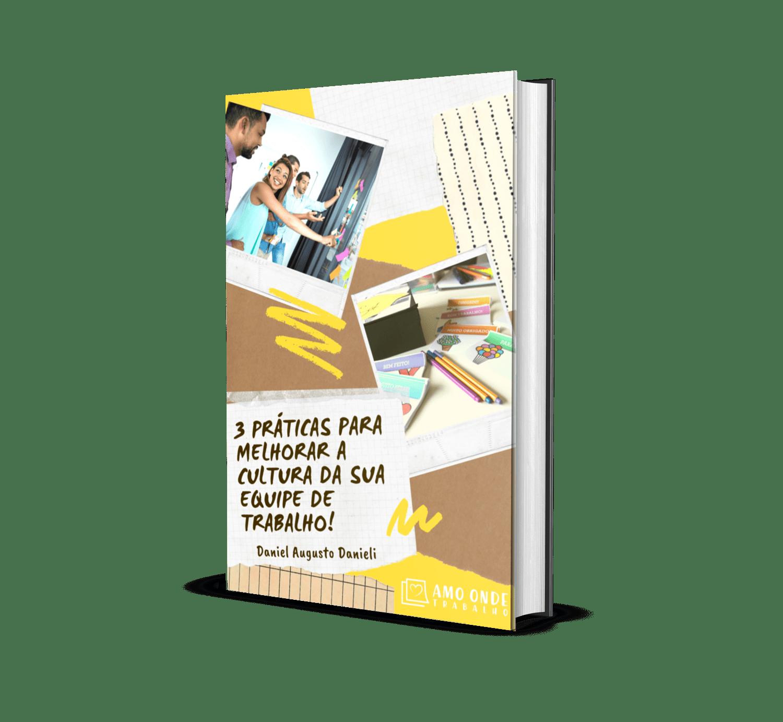 Ebook 3 Práticas Modernas de Gestão Capa - Amo Onde Trabalho