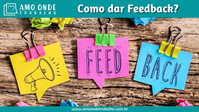 Como dar feedback?