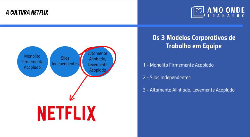 Netflix Modelos Corporativos de Trabalho em Equipe